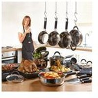 22-Piece Russell Hobbs Cookware Set