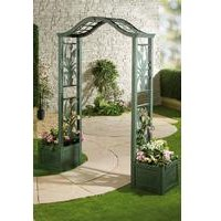 Arbour with Planters