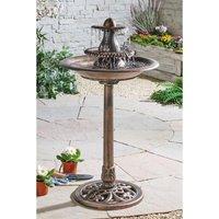 Solar Birdbath Water Fountain