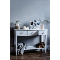 Windsor 3 Drawer Console Table