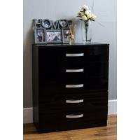 Gloss Front Large Chest of Drawers