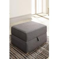 Dauphine Square Storage Footstool