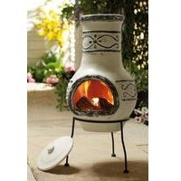 Ardor Clay Chiminea