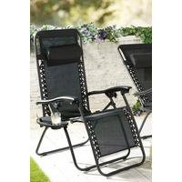 Royale Lounger with Pillow and Cup Holder
