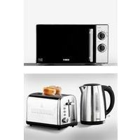 Tower Kettle, Toaster and Microwave Triple Pack