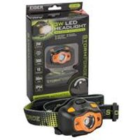 Eiger 3W Storm Force Sensor Headlight with Batteries
