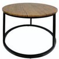 Java Black Coffee Table