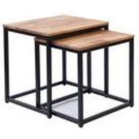 Mirelle Solid Oak Nest of Tables