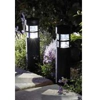Pair Of Solar Style Bollard Lights