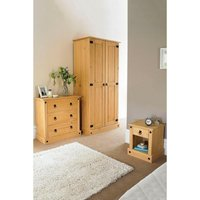Mexican Solid Pine 3-Piece Bedroom Set