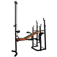 V-Fit Herculean Folding Weight Training Bench