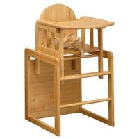 East Coast - Combination Highchair - All Wood