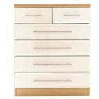 Melbourne 4+2 Chest of Drawers