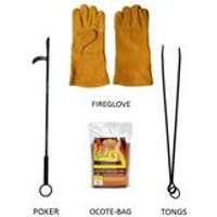 4 Piece Fire Accessories Pack