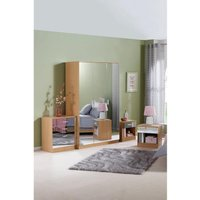 Coniston Mirror Fronted 4-Piece Bedroom Set