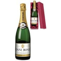 Personalised Birthday Label Champagne - Gift Boxed