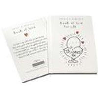 Personalised Book Of Love