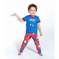 Personalised Boys Monster Pyjamas