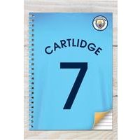 Manchester City Personalised Notebook