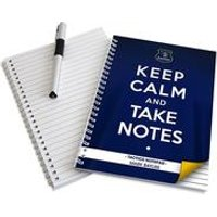 Everton Keep Calm Personalised Notebook