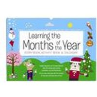 Personalised Months of the Year Activity Book at Ace Catalogue