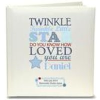 Personalised Boys Twinkle Childrens Photo Album