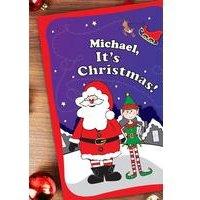 Personalised Large Christmas Book Elf