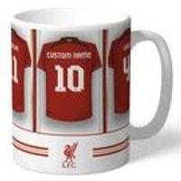 Personalised Liverpool FC Dressing Room Mug