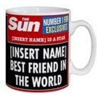 Personalised The Sun Best Friend Mug