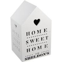 Personalised Home Sweet Home LED Light Box