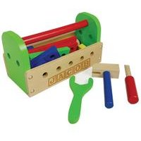 Personalised - Wooden 24 Piece Tool Kit