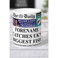Personalised The Daily Fishing Mug