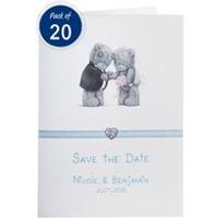 Personalised Me to You Save The Dates