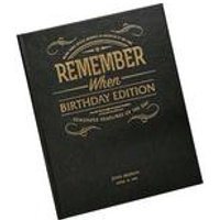 Personalised Newspaper Book - Luxury Birthday Edition