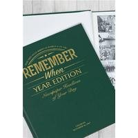 Personalised Newspaper Book - Year Edition