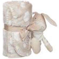Personalised Rabbit and Blanket Set