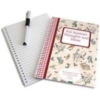 Edwardian Lady Christmas Notebook