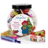 Paddington Bear Christmas Sweets Jar