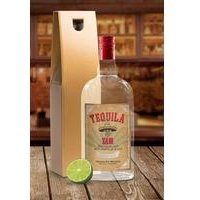 Tequila With Personalised Label - Gold Gift Box