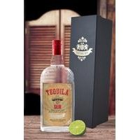Tequila With Personalised Label - Premium Silk Gift Box