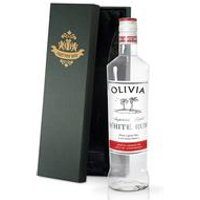 Personalised Bottle of White Rum with Gift Box
