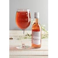 Personalised Wine Set - Rose