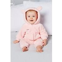 Babys Personalised Fleece Romper