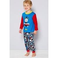 Boys Personalised Thomas Tank Pyjamas