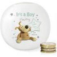 Personalised Boofle Its a Boy Money Box
