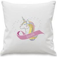 Personalised Unicorn Heart Cushion Cover at Ace Catalogue
