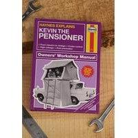 Personalised Haynes The Pensioner Book