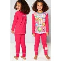 Girls Personalised Shopkins Pyjamas
