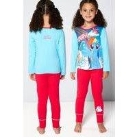 Girls Personalised My Little Pony Pyjamas