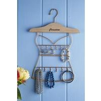 Personalised Metal Jewellery Hanger